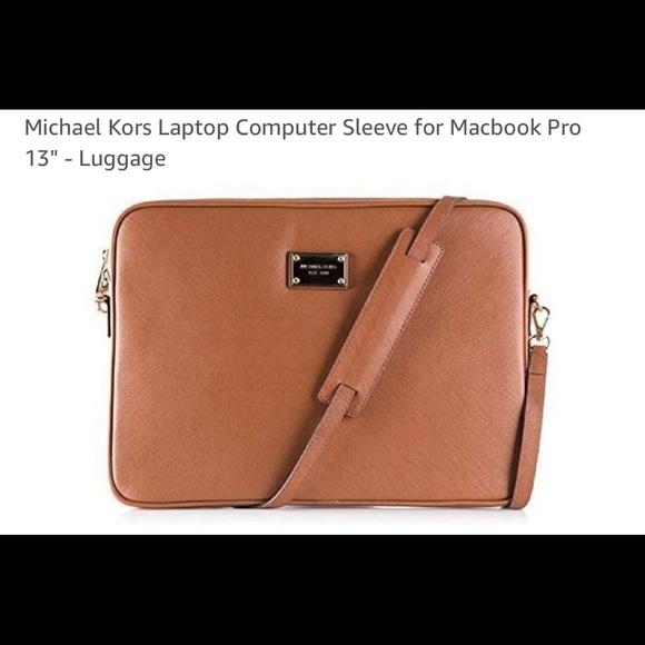 Micheal Kors Laptop Computer Sleeve MacBook Pro